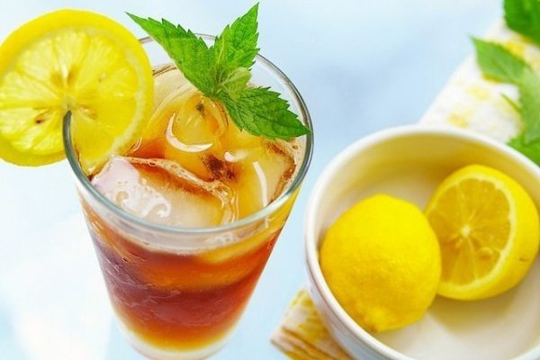 Как сделать чай холодный