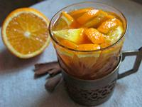 Чай с апельсином