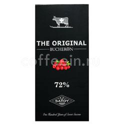 Шоколад Buсheron The Original Горький с клюквой 100 гр