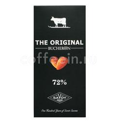 Шоколад Buсheron The Original Горький с миндалем 100 гр