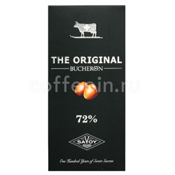 Шоколад Buсheron The Original Горький с фундуком 100 гр