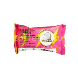 Конфеты Healthy Ball Суперфуд шоколад и кокос с семенами конопли 28 гр