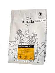 Кофе Amado молотый Санто Доминго 200 гр (для турки)