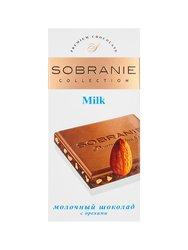 Шоколад Sobranie Молочный с миндалем 100 гр