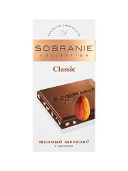 Шоколад Sobranie Темный с миндалем 100 гр