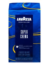 Кофе Lavazza  в зернах Super Crema 1 кг