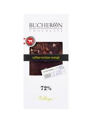 Шоколад Bucheron горький 100 гр (кофе, апельсин)