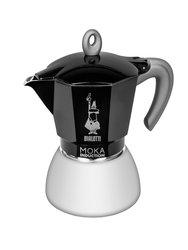 Гейзерная кофеварка Bialetti Moka Induction черная 6 порций (4936)
