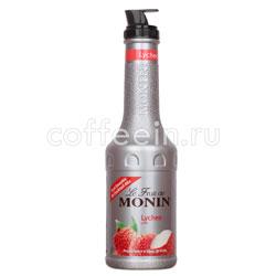 Фруктовое пюре Monin Личи 1 л