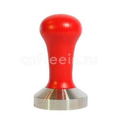 Темпер Мотта с красной деревянной ручкой 53 мм