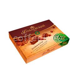Конфеты Бабаевские Кот Д`Ивуар в темном шоколаде с дробленным фундуком 170 гр
