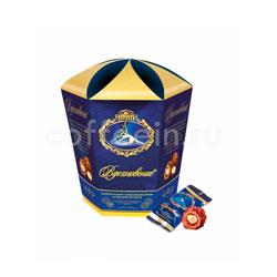 Конфеты Красный Октябрь Вдохновение с шоколадно-ореховым кремом и целым фундуком 150 гр
