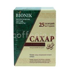Сахар Bionik с имбирем 25 стиков