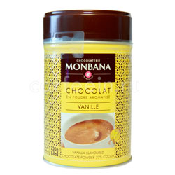 Горячий шоколад Monbana Ваниль 250 гр