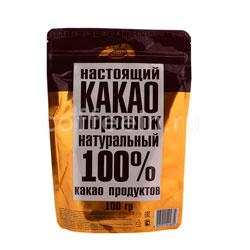 Настоящий какао порошок натуральный 100%
