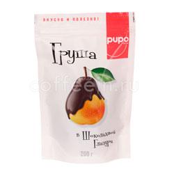 Груша в шоколадной глазури PUPO 200 гр в.у
