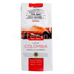 Кофе Compagnia Dell`Arabica в зернах Colombia Medellin Supremo 500 гр