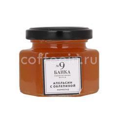 Мармелад Банка. Лаборатория вкуса Апельсин с облепихой 120 гр