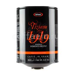 Кофе Bristot в зернах Tiziano 1919 2 кг