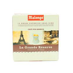 Кофе Malongo в чалдах Grande Reserve