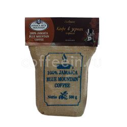 Кофе Jamaica Blue Mountain Coffee в зернах темная обжарка  500 гр