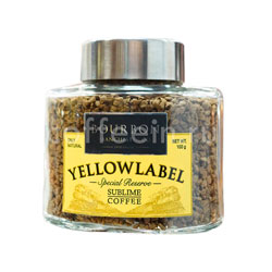 Кофе Bourbon растворимый Yellow Label 100 гр