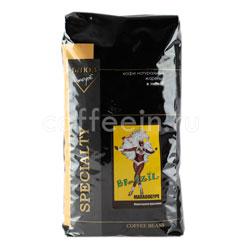 Кофе Блюз в зернах Brazil Maragogype 1 кг