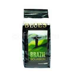 Органический кофе Блюз в зернах Brazil Bourbon