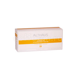 Чай Althaus для чайника Rooibush Strawberry Cream 20x4 гр