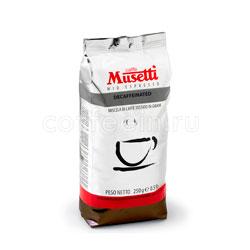 Кофе Musetti в зернах Decaffeinato 250 гр