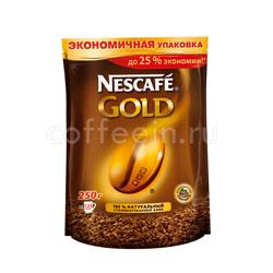 Кофе Nescafe растворимый Gold 250 гр