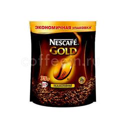 Кофе Nescafe растворимый Gold Ergos 75 гр