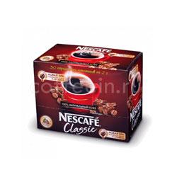 Кофе Nescafe растворимый Classic 40 (30x2 гр)