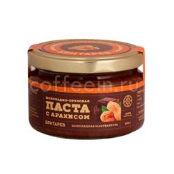 Бритарев шоколадно-ореховая паста с арахисом 200 гр