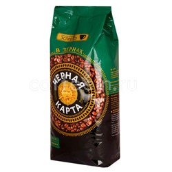 Кофе Черная Карта Espresso в зернах 1 кг