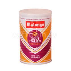 Кофе Malongo молотый Итальянский вкус 250 гр (ж.б.)