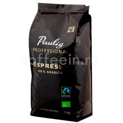 Кофе Paulig Professional Espresso в зернах 1 кг
