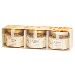 Подарочный набор Меда Barev honey (цветочный луговой, грецкий орех, шелковица)