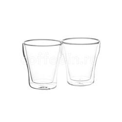 Набор из двух чашек Bellavita с двойными стенками 260 мл BV-366