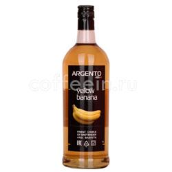 Сироп Argento Желтый Банан 1 литр