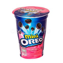 Бисквитное печенье Oreo mini Strawberry 67 гр