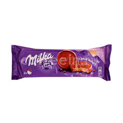 Бисквитное печенье Milka Choco wafer 150 гр
