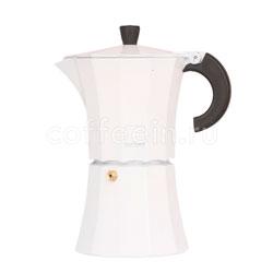 Гейзерная кофеварка Morosina Белая  6 порций