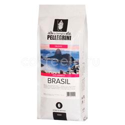 Кофе Pellegrini Brasil в зернах 500 гр