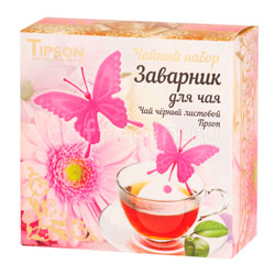 Tipson Чайный набор Бабочка розовая