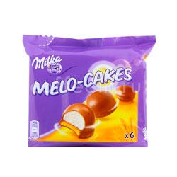 Бисквитное печенье Milka Melo Cakes 100 гр