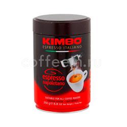 Кофе Kimbo молотый Espresso Napoletano ж/б 250 гр